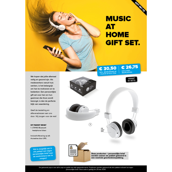 Music at home gift set 8