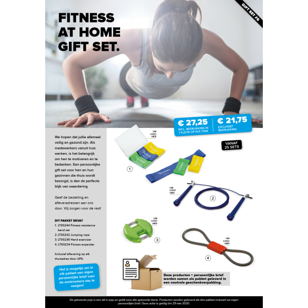Fitness at home gift set 6