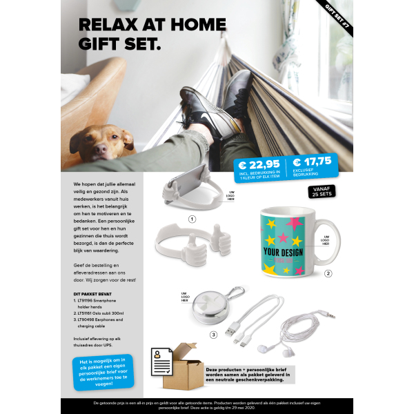 Relax at home gift set 7